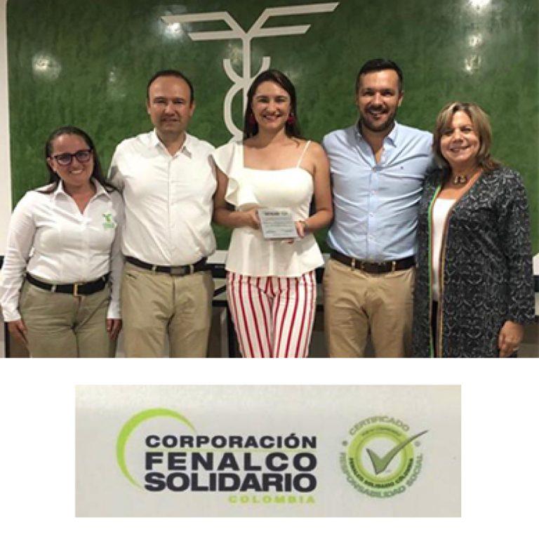 Primera empresa en el Quindío certificada  en Responsabilidad Social.
